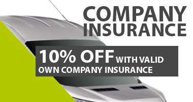 company insured hire